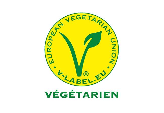 label v vegetarien